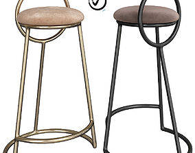 Flamingo Barstool 3D model