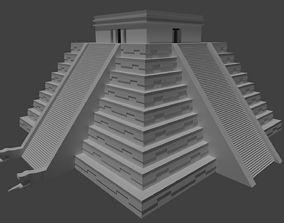 Mayan Pyramid Kukulkan - Piramide Maya de Kukulkan 3D