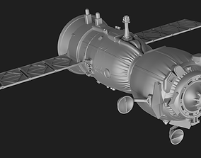 Soyuz MS Spacecraft 3D print model