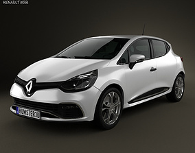 3D model Renault Clio IV RS 2013