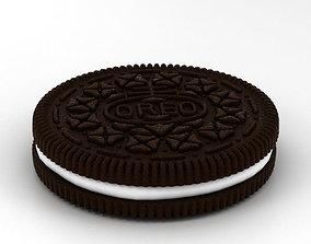 galleta Oreo Cookie 3D model
