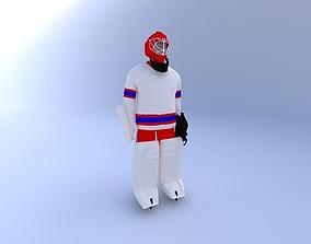 3D model Hockey-Goalie