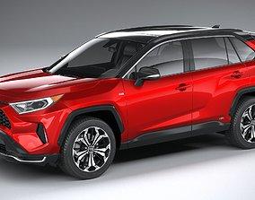 3D model Toyota RAV4 Prime 2021