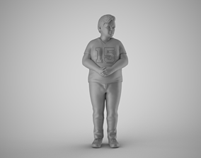 3D printable model Timid Boy