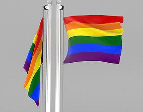 3D Pride Flag