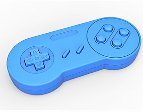 Old school game controller Scale 1 to 2 3D print model