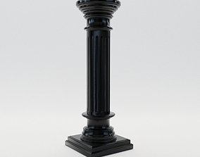 neoclassicism Neoclassical style column about 1900 3D model
