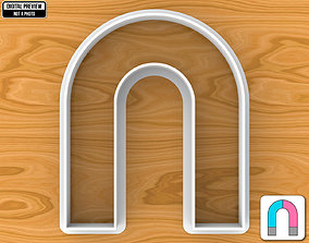 High Arch or U Shaped Magnet Cookie 3D printable model