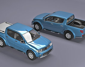 Scale model Mitsubishi l200 for 3d print
