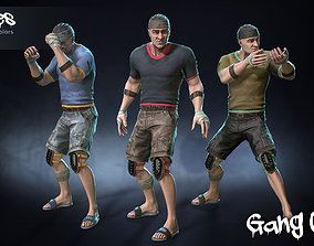 3D model Male Gang 03