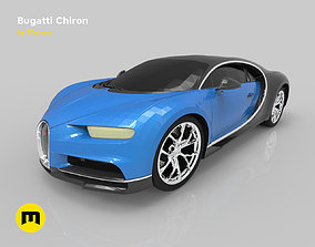 Bugatti chiron 3D print model