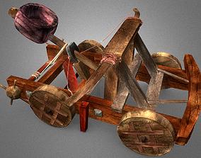 3D model VR / AR ready Catapult