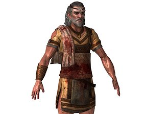 Ch03 - Male Character 3D model