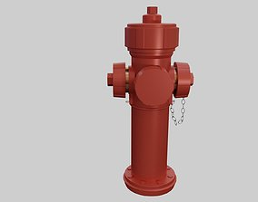 Fire Hydrant - Safety and Emergency Equipment 3D asset
