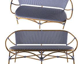 3D model TROPICAL - Pearl Paris Bench