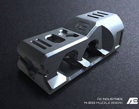 Muzzle Break M-033 3D print model