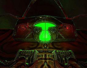 Alien Cockpit Series 01 - The Overseer 3D asset
