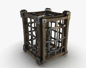 Cage medieval 3D asset