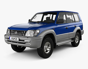Toyota Land Cruiser Prado 5-door 1999 3D