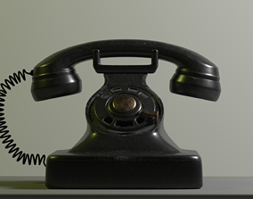 Old Phone appliance 3D model