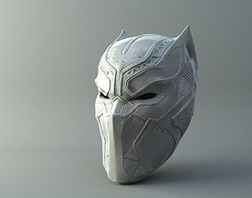 3D printable model Black Panther Mask from Civil War