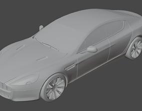 Aston Martin Rapide 3D model auto