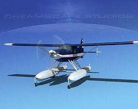 Dehavilland DHC-2 Turbo Beaver V08 3D model