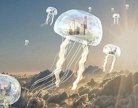 Jellyfish Building 3D model