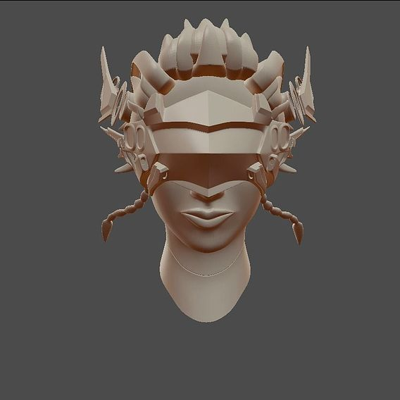 Humaniod girl (Vera-9014) work in progress High Poly