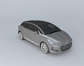 peugeot Citroen DS5 2012 3D