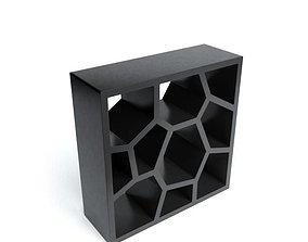 3D Modern Shelving