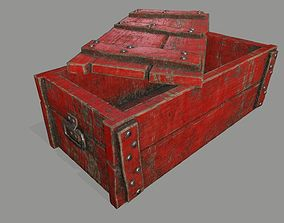 3D model old chest