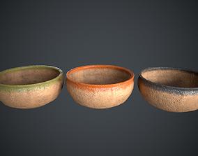Vase Old Painted 3D asset realtime
