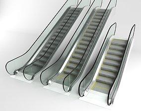 3D Escalator set