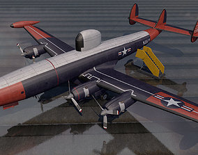 Lockheed EC-121 Warning Star 3D model