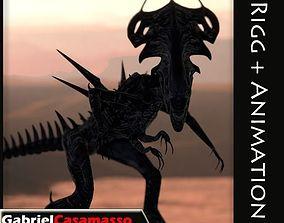 Queen Xenomorph 3D