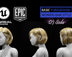 Dj Soda HAirStyle Grooming Real-Time Hairstyle 3D model 2