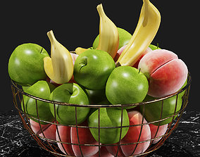 Fruits Set 01 3D vase
