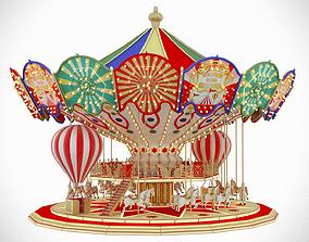 Carousel funfair 3D
