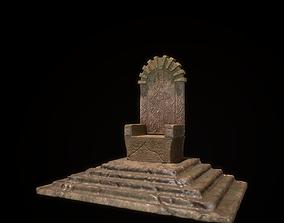 emperor 3D model realtime Throne