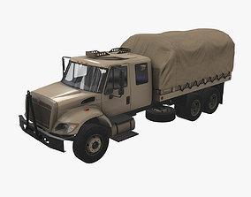 Military Truck Beige 3D model