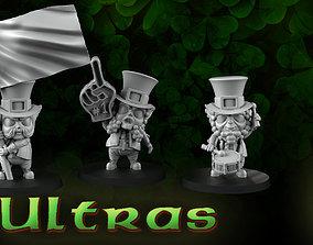 ultras Ultras leprechauns 3D print model