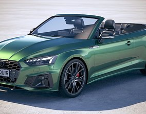 Audi A5 Cabrio S-Line 2020 3D