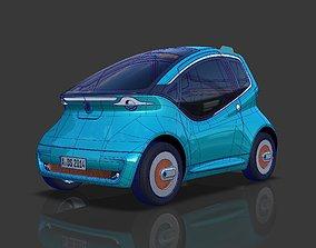 City Car Project Alias Surface CAD 3D Model NURBs and