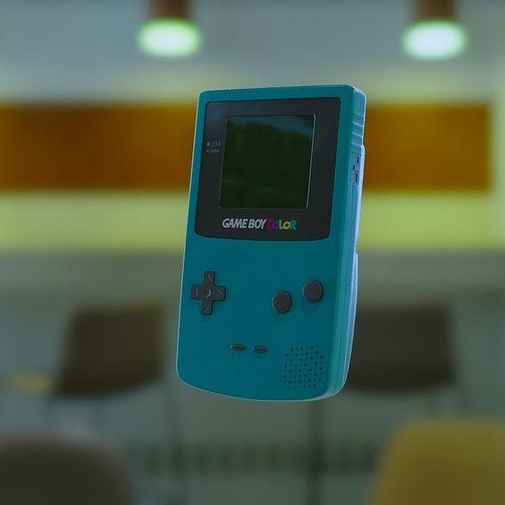GAMEBOY Colour   CG Asset