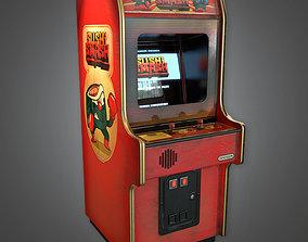3D model Arcade Cabinet - RAC - PBR Game Ready