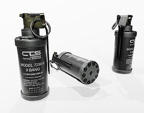 3D model CTS 7290-9 9-Bang Grenade