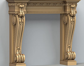 decor Fireplace 001 3D