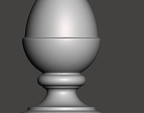 WoodCarving Finial - 3d model for 2