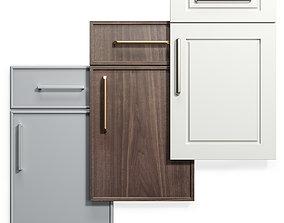 Cabinet Doors Set 11 3D model